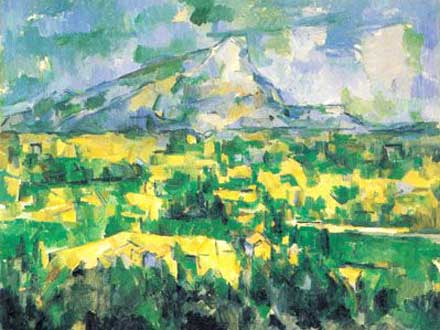 This Unlit Light - Paul Cézanne, Le Mont Saint Victoire