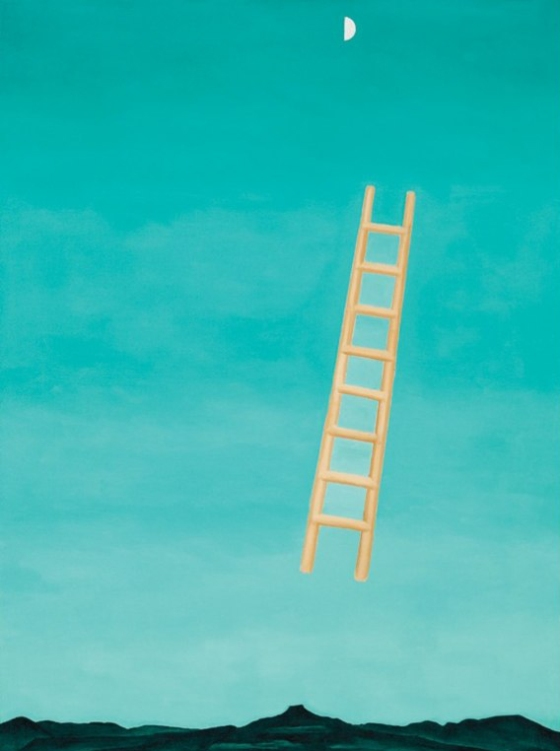 This Unlit Light: Georgia O'Keeffe - Ladder to Heaven