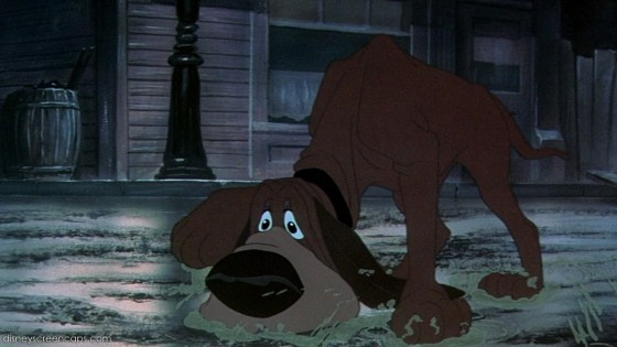 This Unlit Light: Disney screencap from 'Lady and the Tramp'