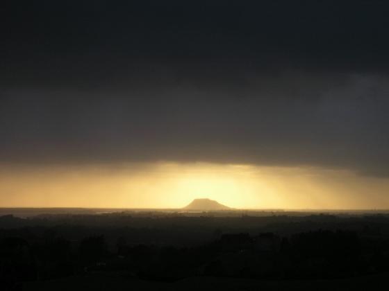 Dawn over Mt Maunganui, Aotearoa New Zealand