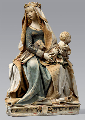 Our Lady of Grace - c. 1470 Languedoc