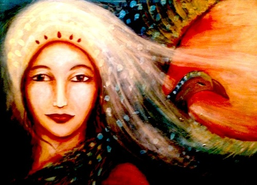 This Unlit Light: Painting by Chameli Ardagh - The Queen of Trust