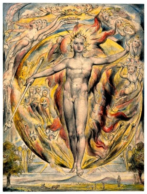 The Great Sun, by William Blake