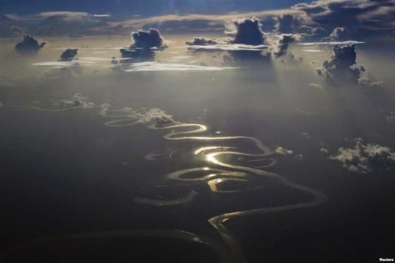 shining river