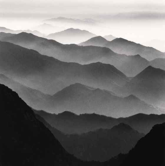 This Unlit Light: Michael Kenna - Huangshan Mountains, Study 42