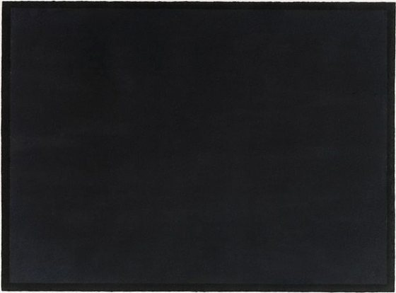 Bob Law - Untitled (Black watercolour) 1987